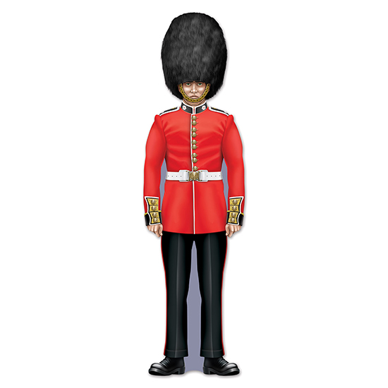 ROYAL GUARD CUTOUT (24/CS) PARTY SUPPLIES