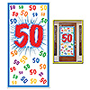 50 DOOR COVER (12/CS) PARTY SUPPLIES