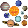 SOLAR SYSTEM CUTOUTS (120/CS) PARTY SUPPLIES