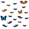 BUTTERFLY CUTOUTS (240/CS) PARTY SUPPLIES