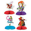 ALICE IN WONDERLAND MINI CENTERPIECES (4 PARTY SUPPLIES