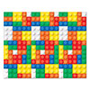 BUILDING BLOCKS BACKDROP (6/CS) PARTY SUPPLIES