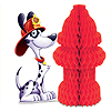 FIRE HYDRANT CENTERPIECE (12/CS) PARTY SUPPLIES