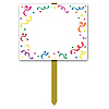BLANK YARD SIGN (6/CS) PARTY SUPPLIES