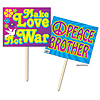 60'S YARD SIGN (6/CASE) PARTY SUPPLIES