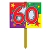 60TH BIRTHDAY YARD SIGN PARTY SUPPLIES