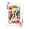3-D PLAYING CARD CENTERPIECE (12/CS) PARTY SUPPLIES