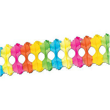 Click for larger picture of ARCADE GARLAND MIX PARTY SUPPLIES