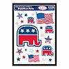 REPUBLICAN PARTY PEEL 'N PLACE PARTY SUPPLIES
