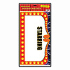 THEATER MARQUEE PEEL 'N PLACE (12/CS) PARTY SUPPLIES