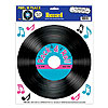 RECORD PEEL N PLACE DECORATION PARTY SUPPLIES
