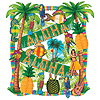 LUAU DECORATING KIT PARTY SUPPLIES