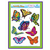 BUTTERFLY CLINGS (12/CS) PARTY SUPPLIES
