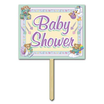 baby shower party banners baby shower party signs baby shower yard
