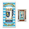 OKTOBERFEST DOOR COVER (12/CS) PARTY SUPPLIES
