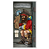 PIRATE RESTROOM DOOR COVER (12/CASE) PARTY SUPPLIES