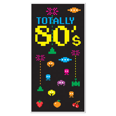 1980s theme party supplies totally 80s door cover for 1980s party decoration ideas