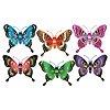 JUMBO MAJESTIC BUTTERFLIES (12/CASE) PARTY SUPPLIES