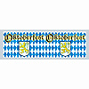 OKTOBERFEST METLLIC FRINGE BANNER(12/CS) PARTY SUPPLIES