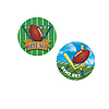 GAME DAY FOOTBALL COASTERS (96/CS) PARTY SUPPLIES