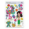 HULA BABY PEEL 'N PLACE (12/CS) PARTY SUPPLIES