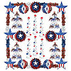 PATRIOTIC REFLECTIONS DECOR KIT (1/CS) PARTY SUPPLIES
