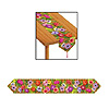 PRINTED LUAU TABLE RUNNER PARTY SUPPLIES
