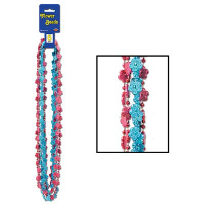 Click for larger picture of FLOWER BEADS (72/CS) PARTY SUPPLIES