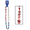 USA BEADS-OF-EXPRESSION (12/CS) PARTY SUPPLIES