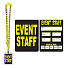 EVENT STAFF PARTY PASS PARTY SUPPLIES
