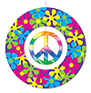 PEACE SIGN MOBILE PARTY SUPPLIES