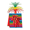 CHILI PEPPER CENTERPIECE (12/CS) PARTY SUPPLIES