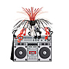 BOOM BOX CENTERPIECE PARTY SUPPLIES
