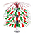 ITALIAN FLAG CASCADE CENTERPIECE PARTY SUPPLIES