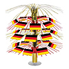 GERMAN FLAG CASCADE CENTERPIECE PARTY SUPPLIES
