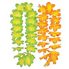 SILK 'N PETALS KIWI MANGO LEIS ASST PARTY SUPPLIES