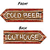 REDNECK OUTHOUSE PARTY SIGN (24/CS) PARTY SUPPLIES