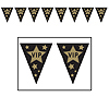 VIP PENNANT BANNER (12/CASE) PARTY SUPPLIES