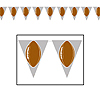 FOOTBALL PENNANT BANNER PARTY SUPPLIES