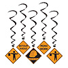 CONSTRUCTION WHIRLS PARTY SUPPLIES