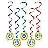 PEACE WHIRLS PARTY SUPPLIES