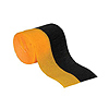BLCK/GLDN-YELLOW CREPE STREAMER (12/CS) PARTY SUPPLIES