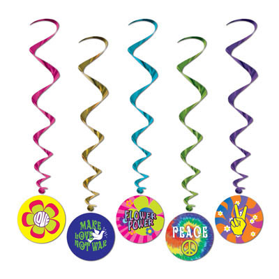 Click for larger picture of 60'S WHIRLS (30/CS) PARTY SUPPLIES