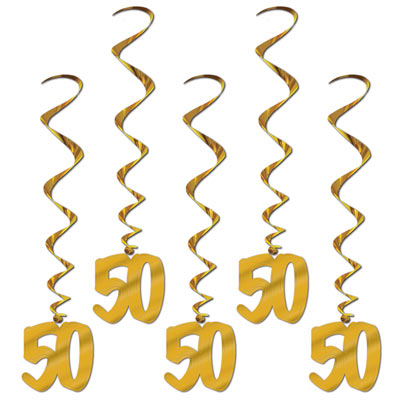 50th anniversary party decorations 50th anniversary 50 whirls