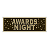 AWARDS NIGHT SIGN BANNER (12/CASE) PARTY SUPPLIES