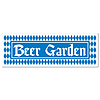 BEER GARDEN SIGN BANNER (12/CS) PARTY SUPPLIES