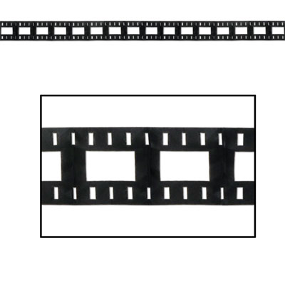 Click for larger picture of FILMSTRIP GARLAND PARTY SUPPLIES