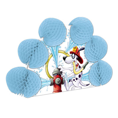 Click for larger picture of DALMATIAN POP-OVER CENTERPIECE (12/CS) PARTY SUPPLIES