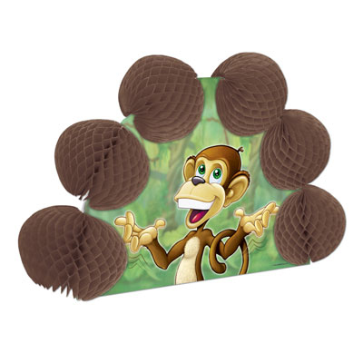 Click for larger picture of MONKEY POP-OVER CENTERPIECE PARTY SUPPLIES