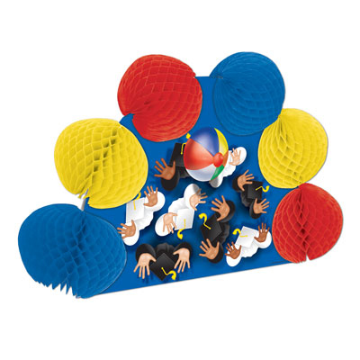 Click for larger picture of GRADUATION POP-OVER CENTERPIECE (12/CS) PARTY SUPPLIES